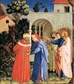 Apostle saint James the Great Freeing the Magician Hermogenes