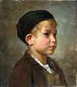 portrait of a boy with hat