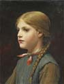 portrait of a girl two