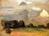 Landscape with Grey Sky