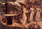 Appearance of three Angels before Abraham