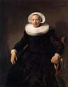 portrait of a woman by Jacob Adriaensz Backer
