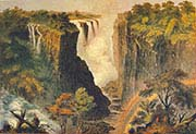 Falls from the Western end of the Chasm