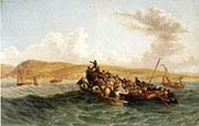 The British Settlers Landing in Algoa Bay