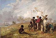 Thomas Baines with Aborigines near the Mouth of the Victoria River