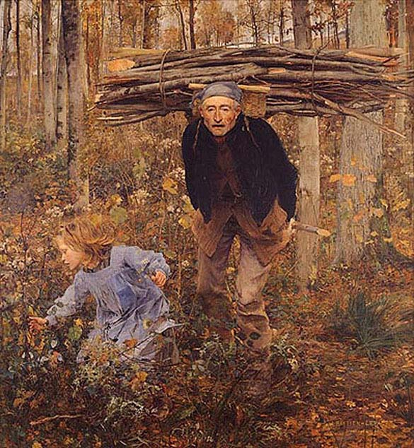 The Wood Gatherer