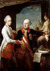 Emperor Joseph two and his Younger Brother Grand Duke Leopold
