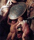 Venus Presenting Aeneas with Armour Forged by Vulcan (detail)