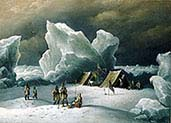 Captain Markham's Most Northerly Encampment