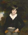 portrait of a boy said to be master barker