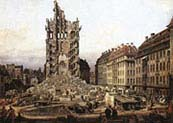 Ruins of Old Kreuzkirche Dresden