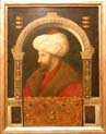 portrait of mehmet two by Gentile Bellini