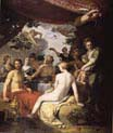 feast of the gods at the wedding of peleus and thetis