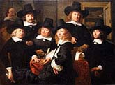 The Six Regents and the Beadle of the Nieuwe Zijds Institute