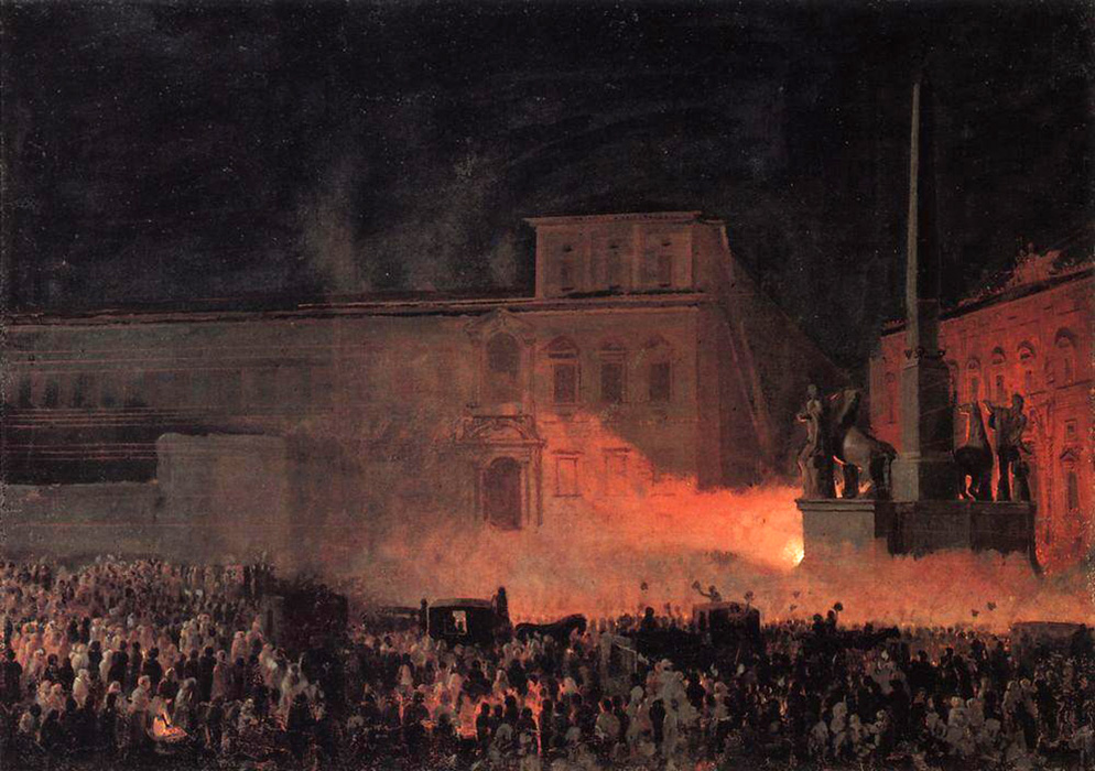 demonstration in rome in 1846
