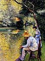 Fisherman on the Yerres
