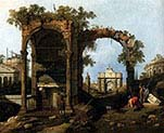 Capriccio with Classical Ruins