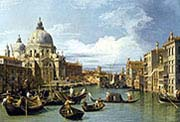 Grand Canal and the Church of the Salute
