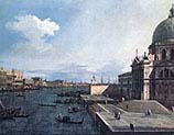 Grand Canal at the Salute Church