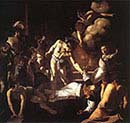 Martyrdom of saint Mathew