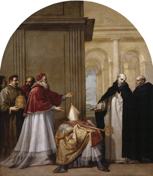 saint bruno refuses the archbishopric of reggio di calabria[