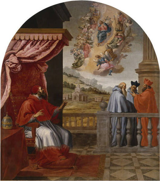 vision of pope victor three