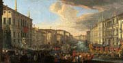 regatta on the grand canal in honour of frederick four king of denmark
