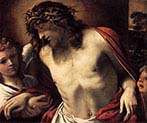 Christ Wearing the Crown of Thorns Supported by Angels