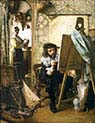 Artist in his Studio
