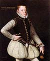 Rudolf II Holy Roman Emperor as a young Archduke