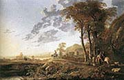 Landscape with Horsemen and Shepherds