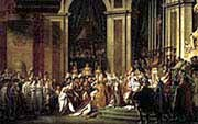 Consecration of the emperor Napoloen