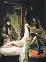 Louis d'Orleans Showing his Mistress