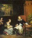 Milton Dictating Paradise Lost to his Daughters