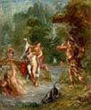 The Summer Diana Surprised by Actaeon
