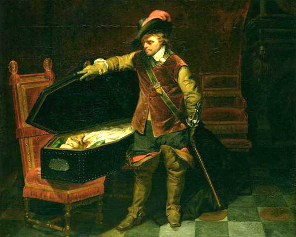 cromwell and the corpse of charles the first