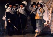 officers of the witte vendel in delft in 1648
