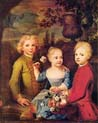 three children of the councilor barthold hinrich brockes