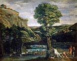 Landscape with Hercules and Achelous