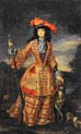 anna maria luisa de medici in hunting dress by Jan Frans van Douven