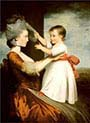 Elizabeth Mortlock And Her Son