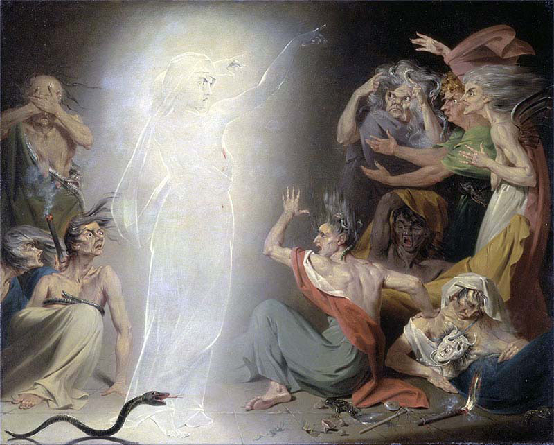 The Ghost of Clytemnestra Awakening the Furies