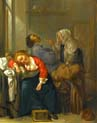bordello scene with sleeping couple