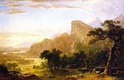 Landscape-Scene from Thanatopsis