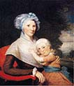 Martha Tennent Rogers and Her Son