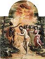 The Baptism of Christ The Modena Tryptich