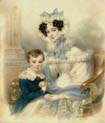 princess henrietta of nassau-weilburg with her son archduke albrecht