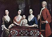 Family Portrait of Isaac Royall