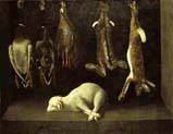 still life with lamb and game pieces