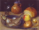 Still-life with Herring and Bartmann Jug